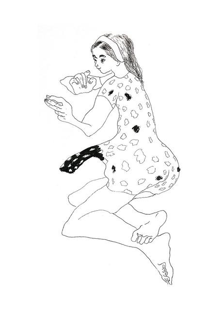 רישום בקו רישומים בקווים של אישה רישומי נשים רפי פרץ צייר עכשווי מודרני אמנים ישראלים