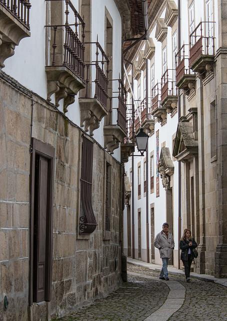 Old street in Guimaraes
