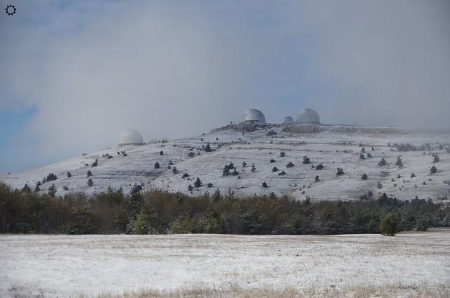 Гора Ай-Петри зимой, Ялта, Крым (Ai-Petri mountain in winter, Yalta, Crimea)