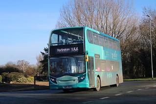 VERY RARE | MAX X66 | Arriva North East - ADL Enviro400 7534/NK15 ACF | Darlington