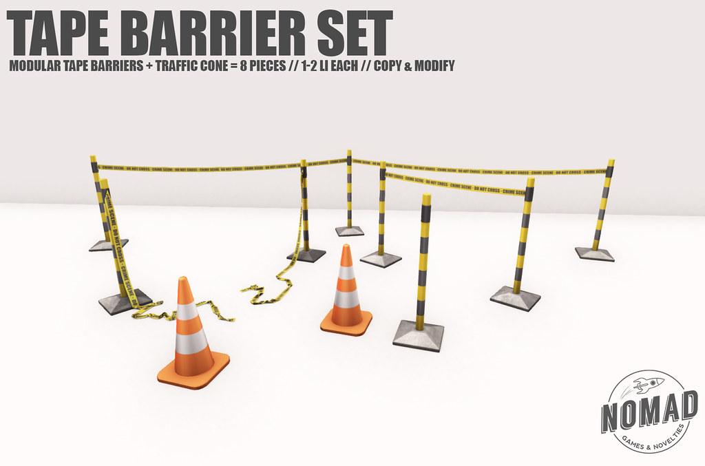 NOMAD // Tape Barrier Set