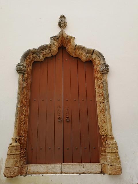 portada de Iglesia de la Misericordia Silves Algarve Portugal