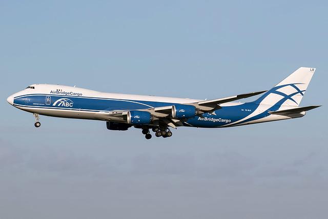 VQ-BLR / AirBridgeCargo / Boeing 747-8HVF