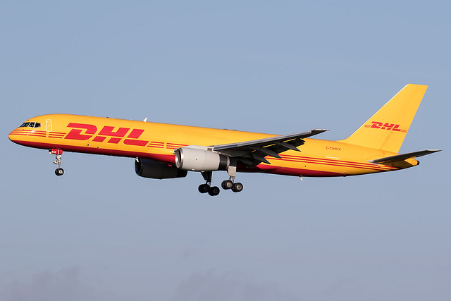 G-DHKX / DHL Air / Boeing 757-23APF