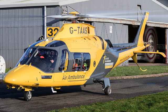 G-TAAS / The Air Ambulance Service / AgustaWestland AW109SP