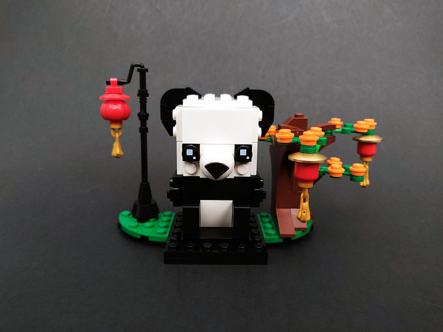 LEGO BrickHeadz Chinese New Year Pandas (40466)