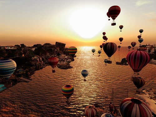 Lavender Lake Balloon Festival - In Flight Fantasia | by mromani50