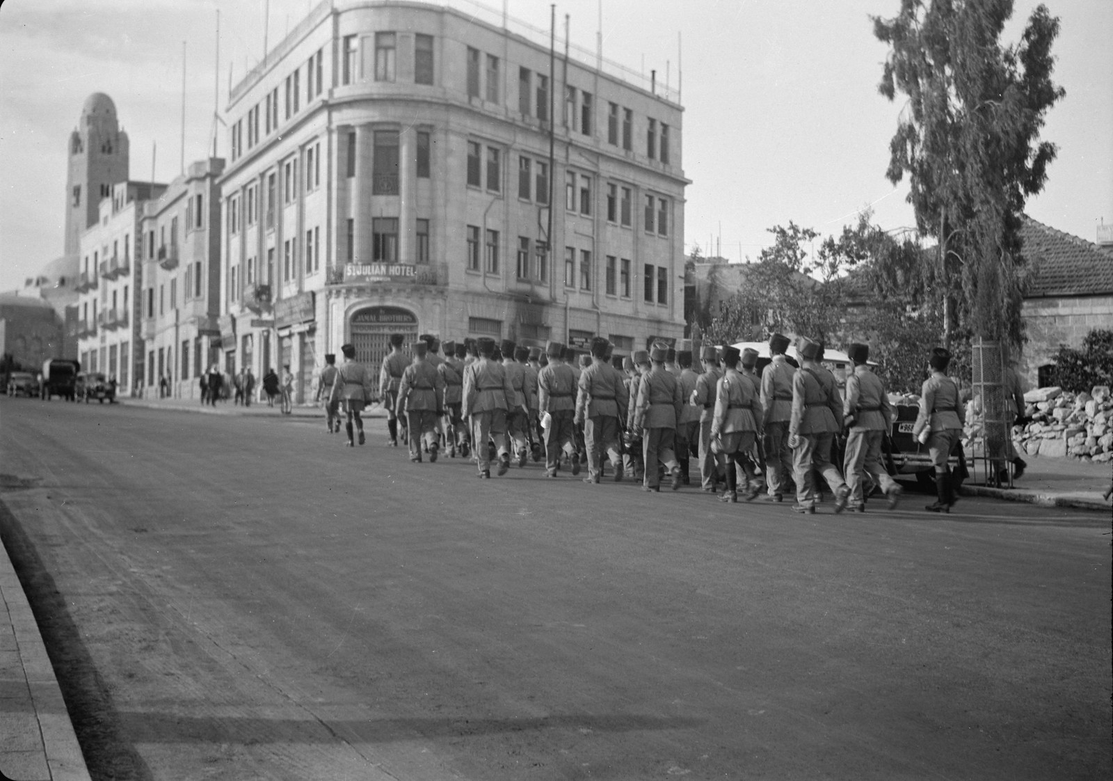 08. 1938. Вспомогательная еврейская полиция в Иерусалиме