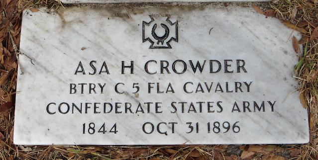 50867769326 ab48d6fd08 z GS Asa H Crowder   Bethel UMC Cemetery   Leon Co FL