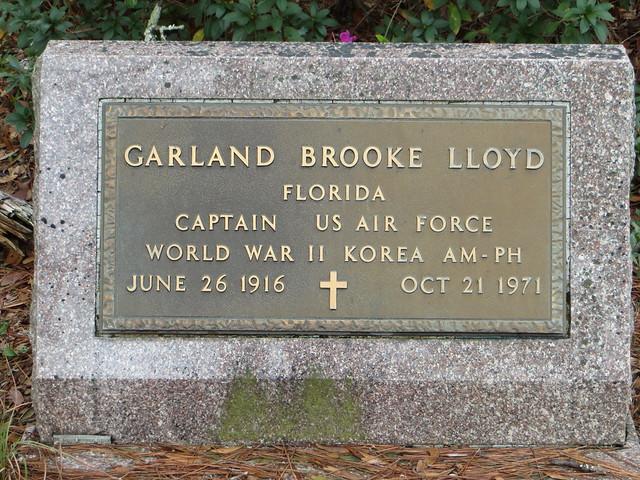50867769901 371e860253 z GS Garland Brooke Lloyd   Bethel UMC Cemetery   Leon Co FL