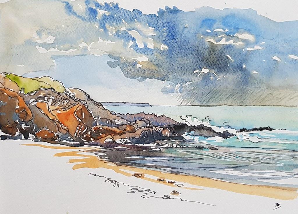 Le Pouldu - plage du Kerou