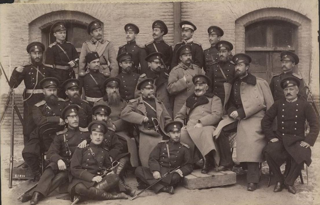 Офицеры. 1891