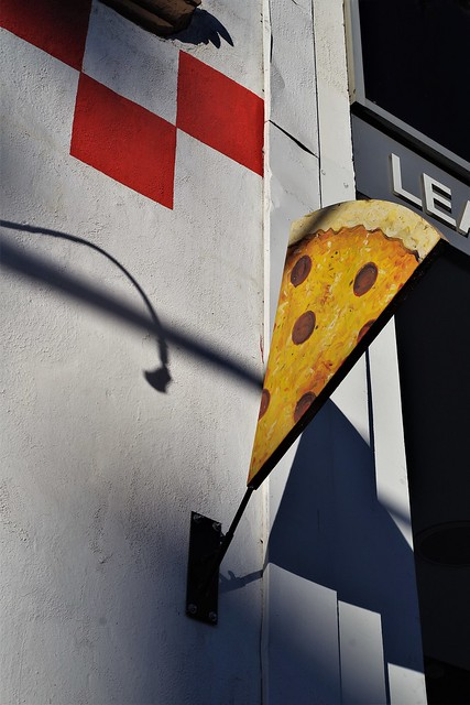 Shadow of Delicious Pizza . Hollywood