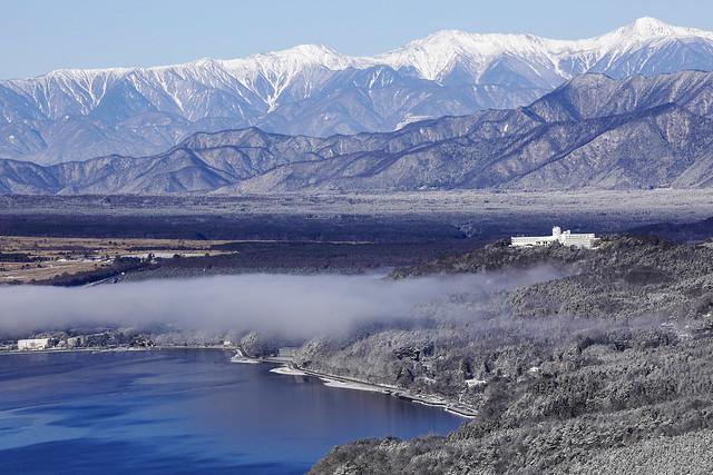 a view from Mt.Myojinn