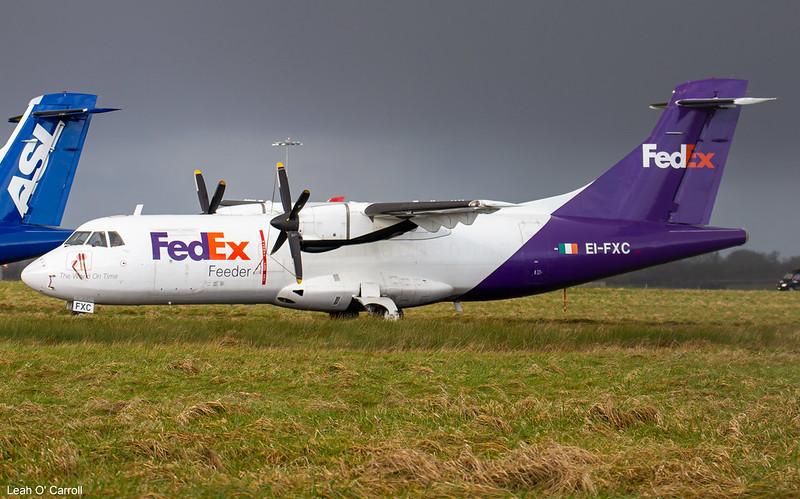 ASL Airlines (Fedex) ATR42-300F EI-FXC