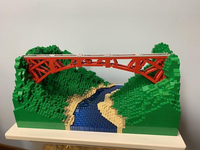 Bridge in Red
