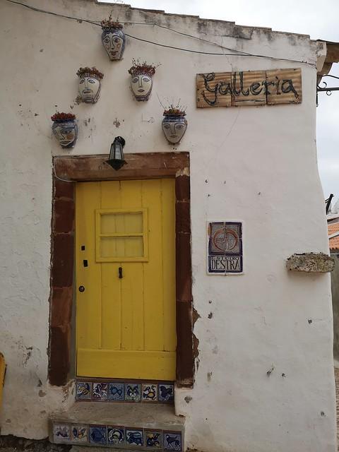 puerta de edificio de Silves Algarve Portugal