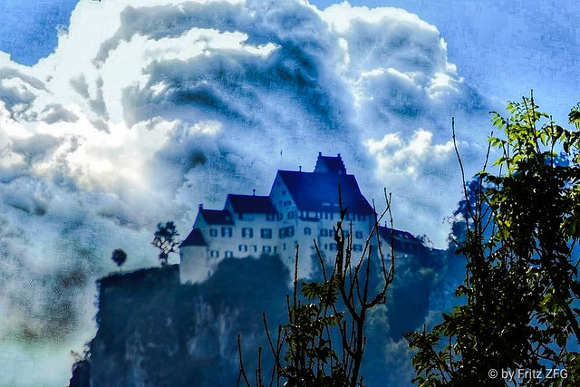 Clouds over Werenwag Castle