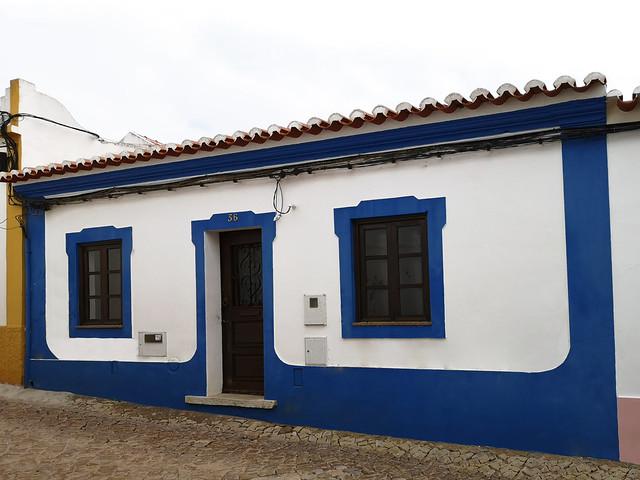 edificios y calles de Silves Algarve Portugal 08