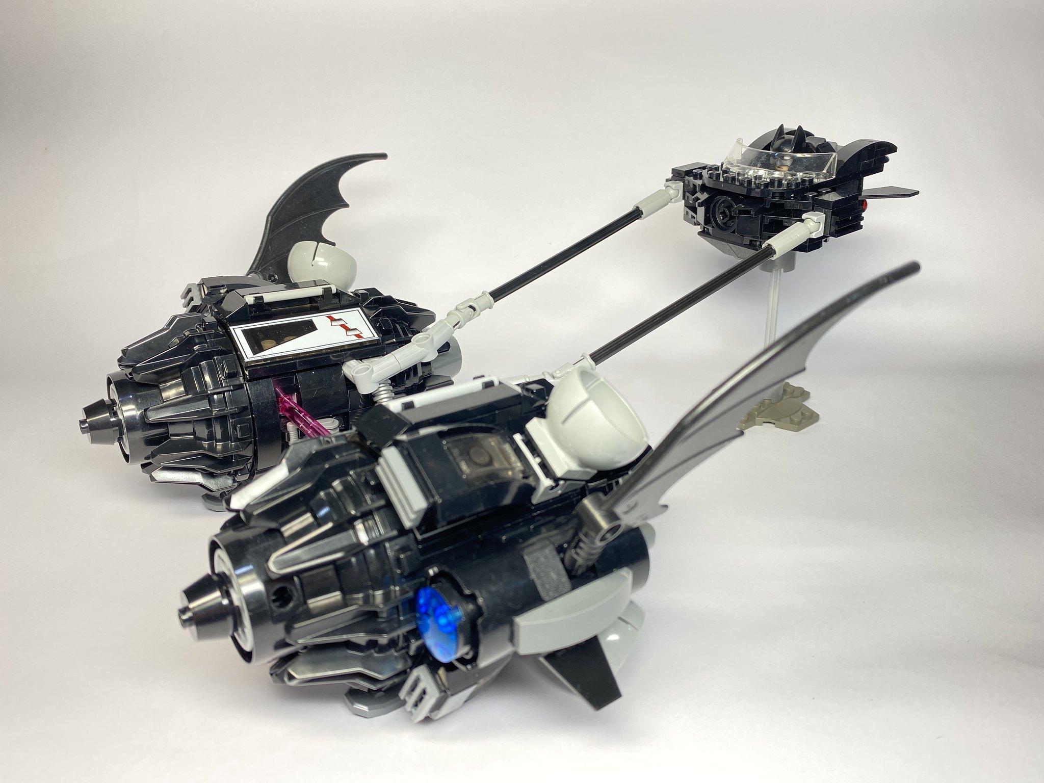 [Alan MOC] 蝙蝠俠極速飛梭