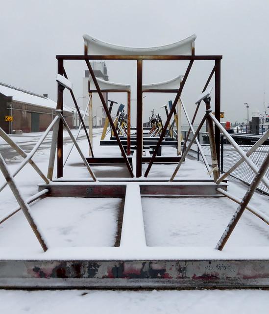 Geometric winter wonderland