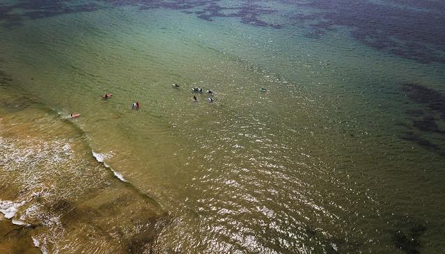 Summer in Australia: Surf school