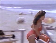 Baywatch - November 26, 1994 - 375 - Caroline Holden (Yasmine Bleeth) In Her Red Lifeguard Bathing Suit