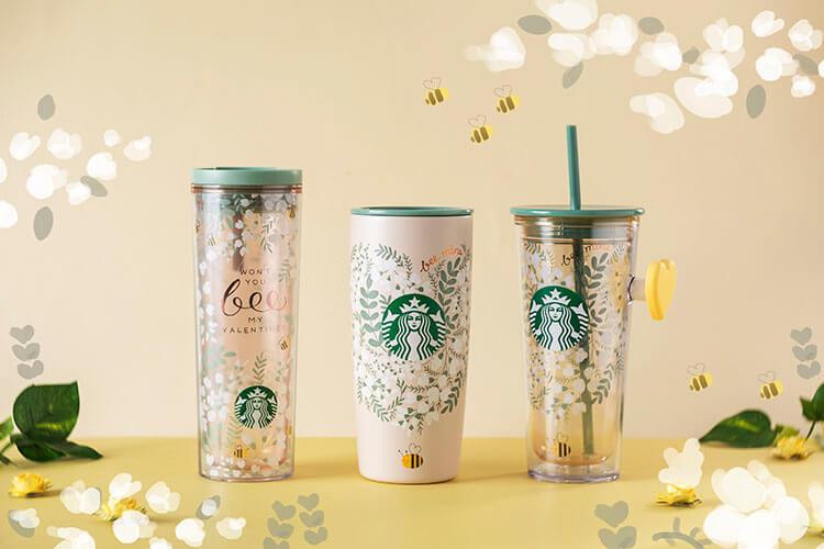 Starbucks Buzz mugs