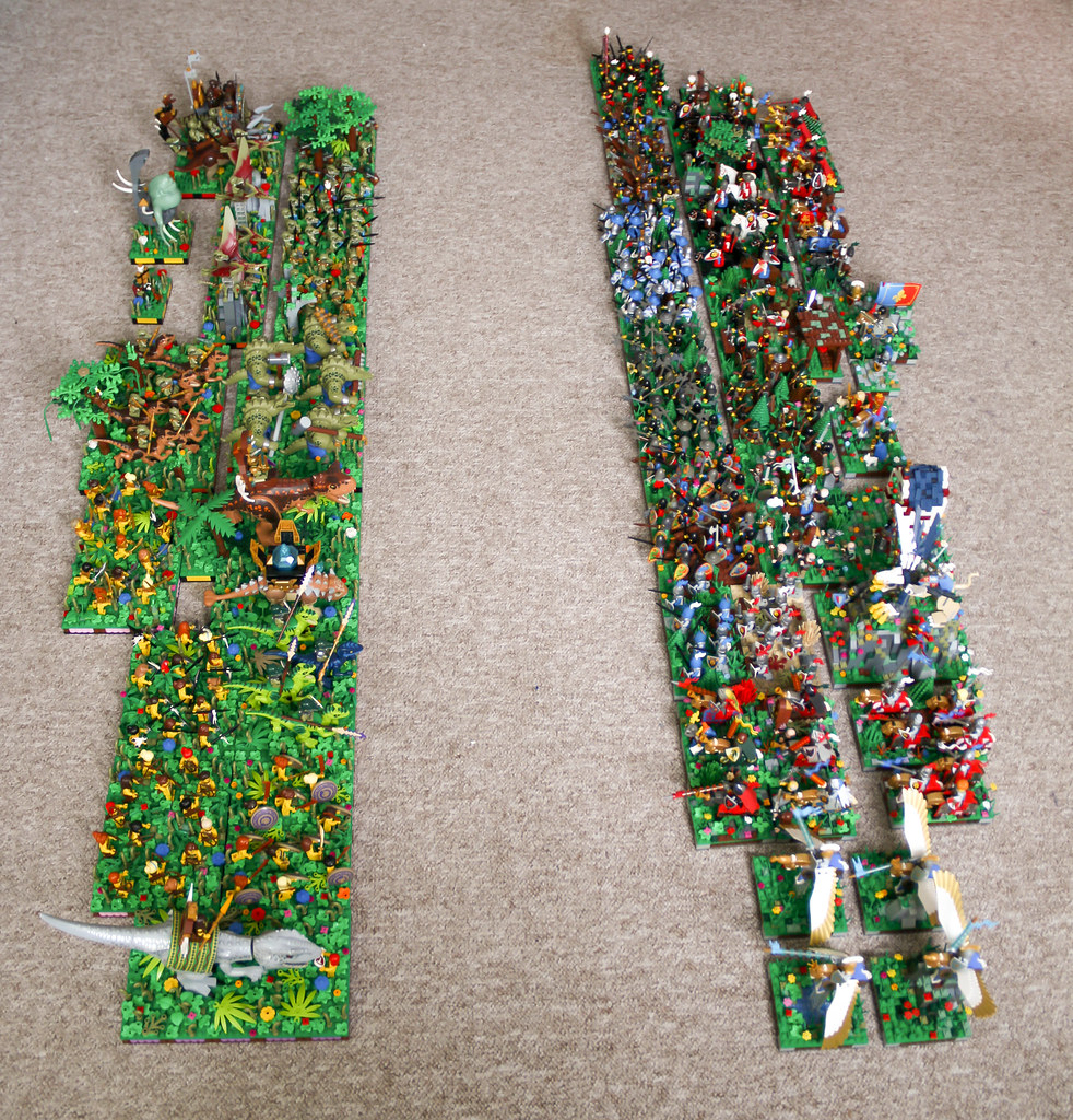My entire LEGO Warhammer army (24. 1. 2021)