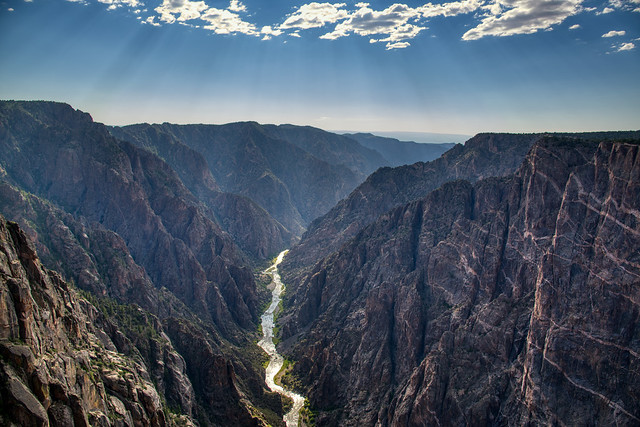I Am In No Rush To Paradise As I Have Arrived Indeed! (Black Canyon of the Gunnison National Park)