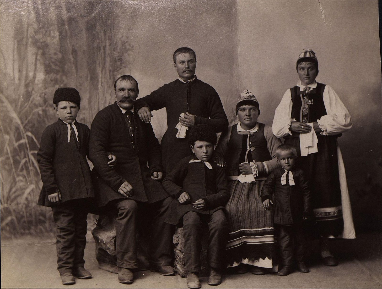 Семья духоборов