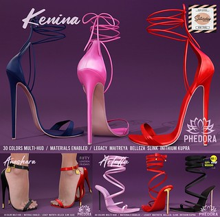 Phedora. New Mainstore Release/Promo Price + The Saturday Sale  & 60L$ Happy Weekend & Fifty Linden Friday! ♥ | by Celena Galli & NikiDemonix ~ phedora.