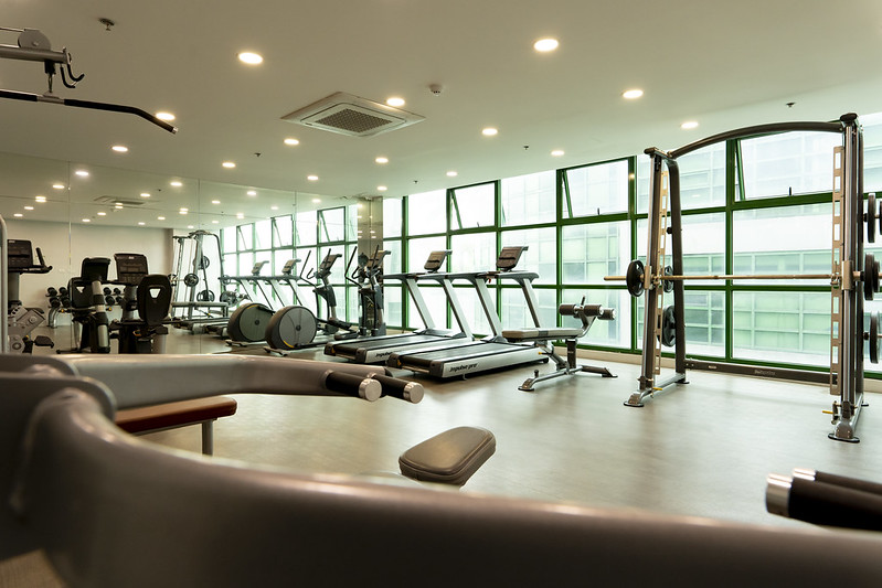 The Symphony Towers Fitness Center