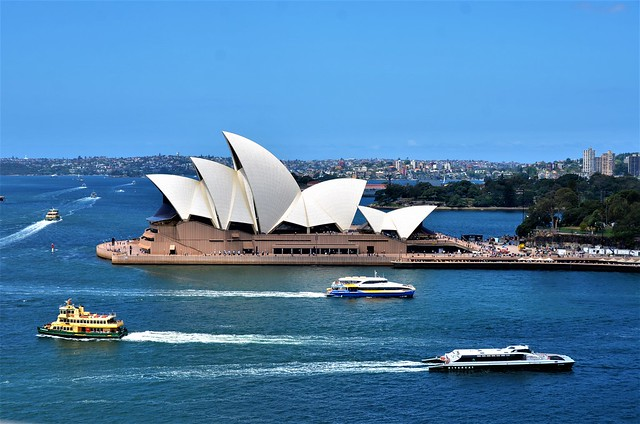 Australia - Sydney - Fotos desde The Sydney Harbour Bridge