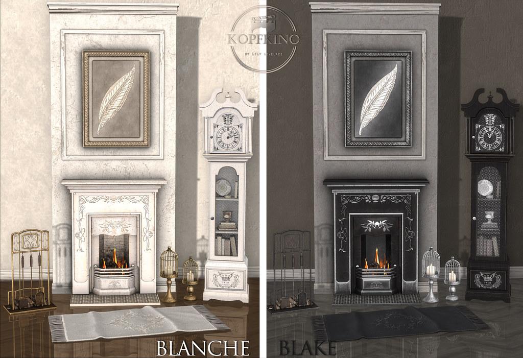 KOPFKINO NEW release - Blanche & Blake Set