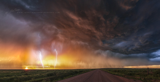 Back-lit Storm