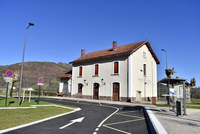 Gare SNCF d'Ossès - Saint-Martin-d'Arrossa - 19/01/21