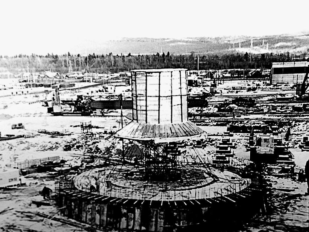 6 Начало строительства Комсомольской ТЭЦ-3 (1983 г.)