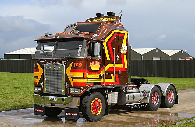 50th Anniversary of KW Trucks in NZ