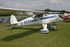 G-BSSA Luscombe 8E [4176] Popham 090809