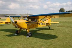 G-BCVB Piper PA-17 [17-190] Popham 090809