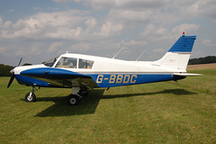 G-BBDC Piper PA-28-140 [28-7325437] Popham 090809