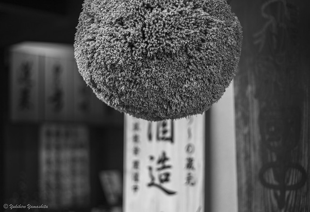 Sugitama -  a ball made of cedar leaves