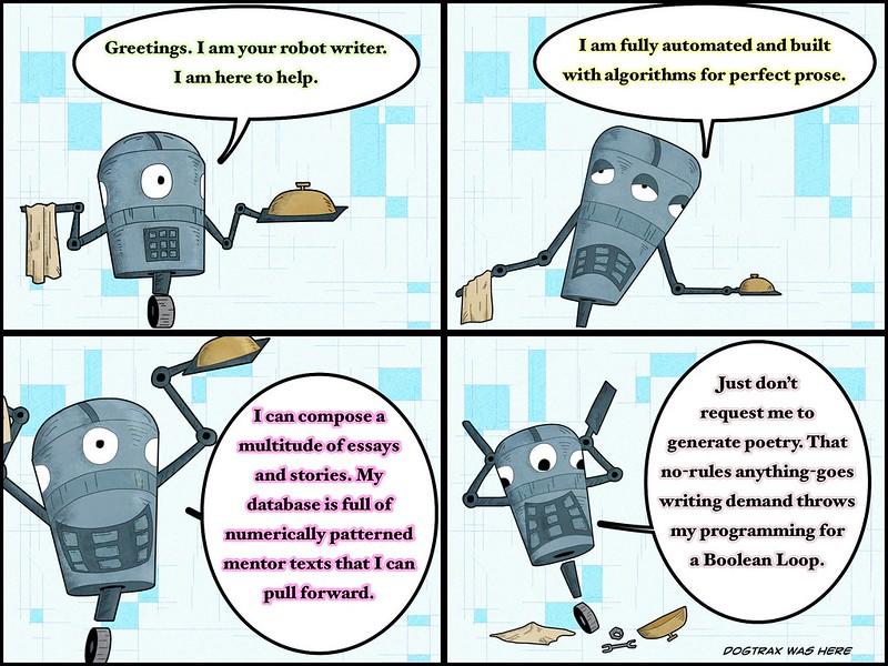 RobotWriter Can't Do Poems