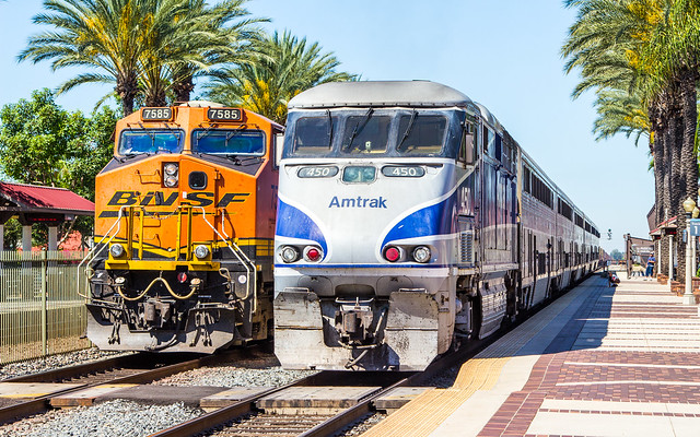 AMTK 450 at Fullerton