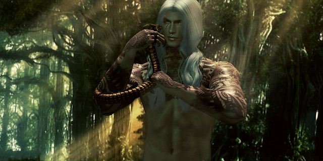 ♠the snakes will always surround you do not kill them ... dominate them and then let them die in their own venom ...♠