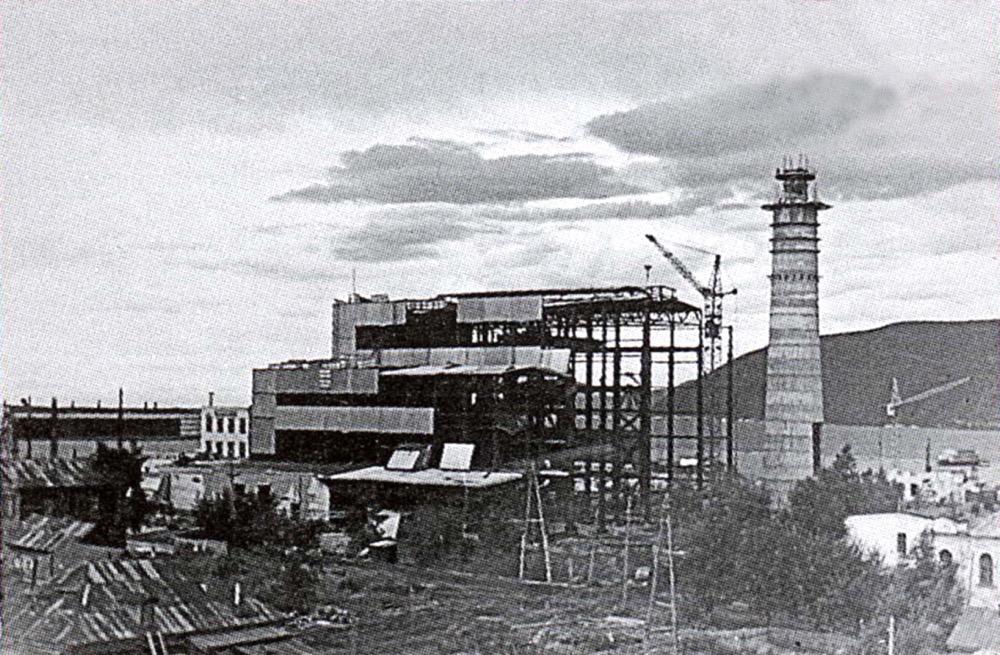 6 Строительство Николаевской ТЭЦ (1972 г.)