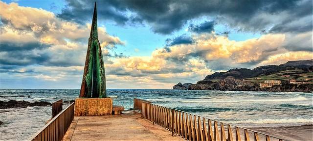 La playa de Bakio