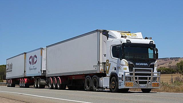 Wightman Transport #110 - Scania 50th Anniversary Ltd Edition