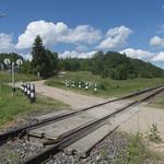 Radviliškis–Šapeliai-state border railway crossing, 22.06.2020.